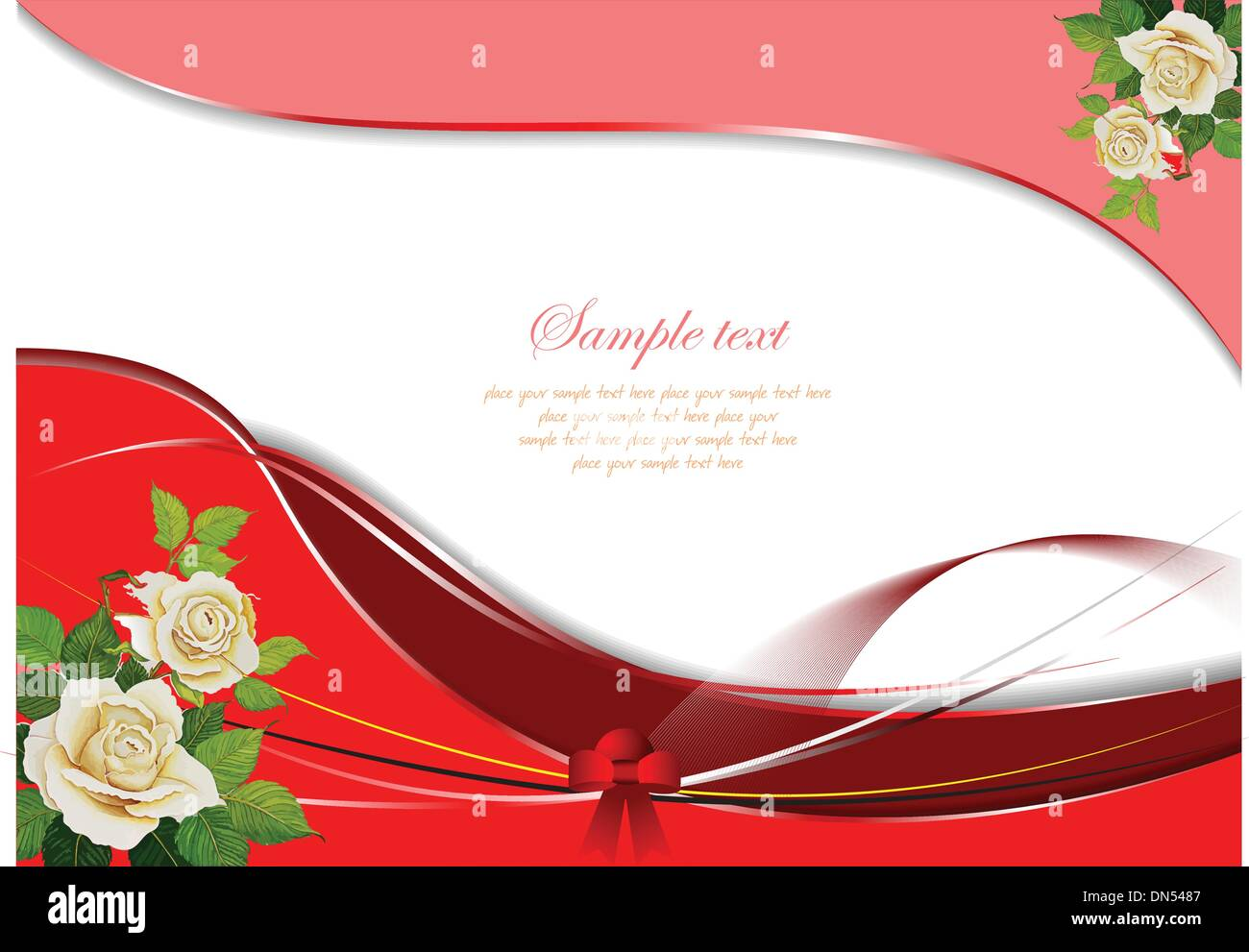 Wedding Day Congratulations Card Stock Vector Images - Alamy