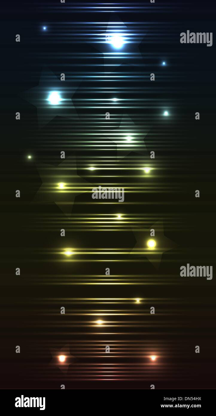 The stellar abstraction - Stock Vector