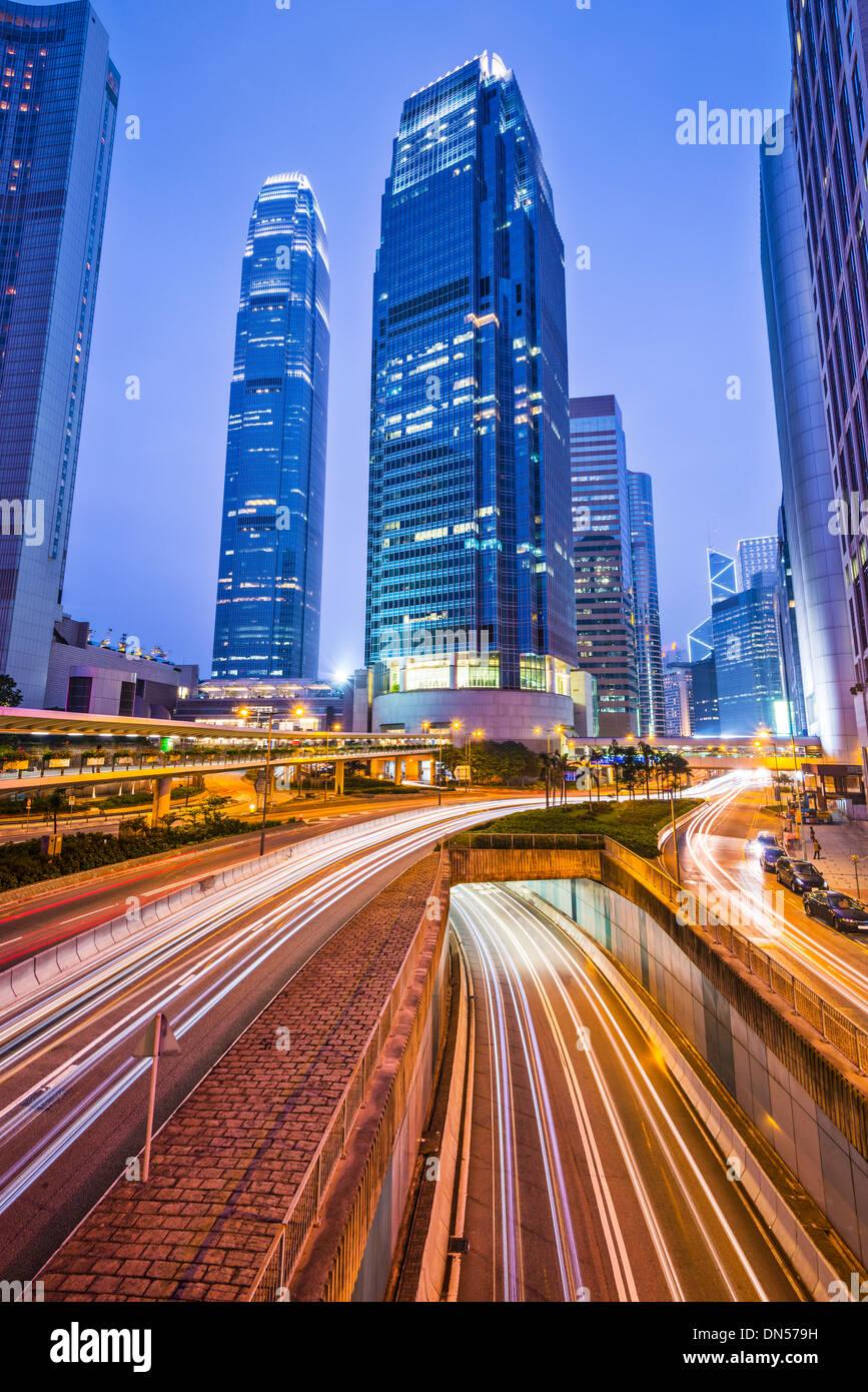 International Financial Center of Hong Kong, China. - Stock Image