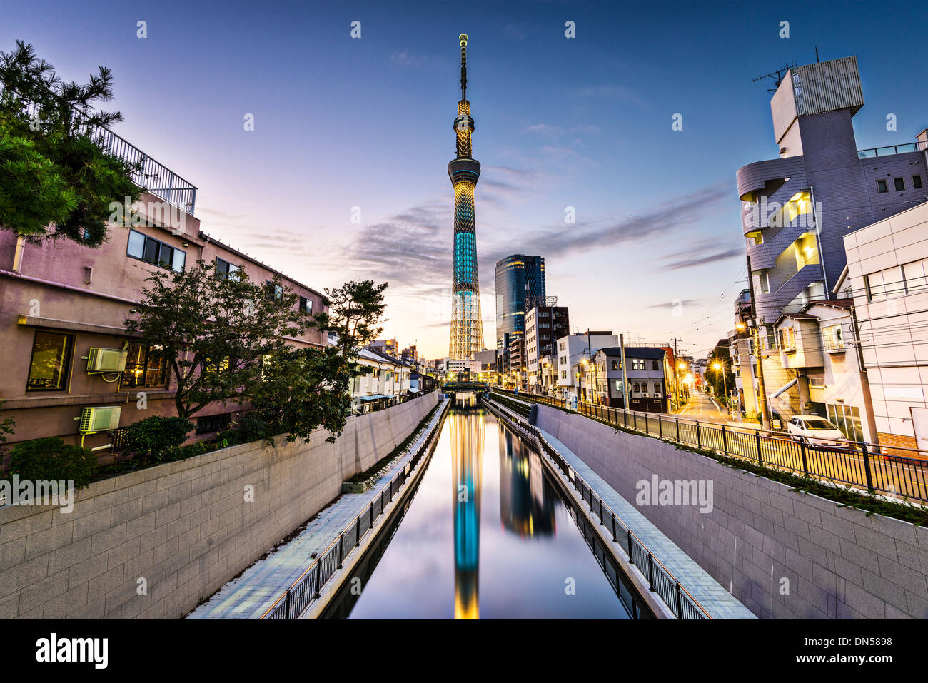 Tokyo, Japan Sumida Ward cityscape. - Stock Image
