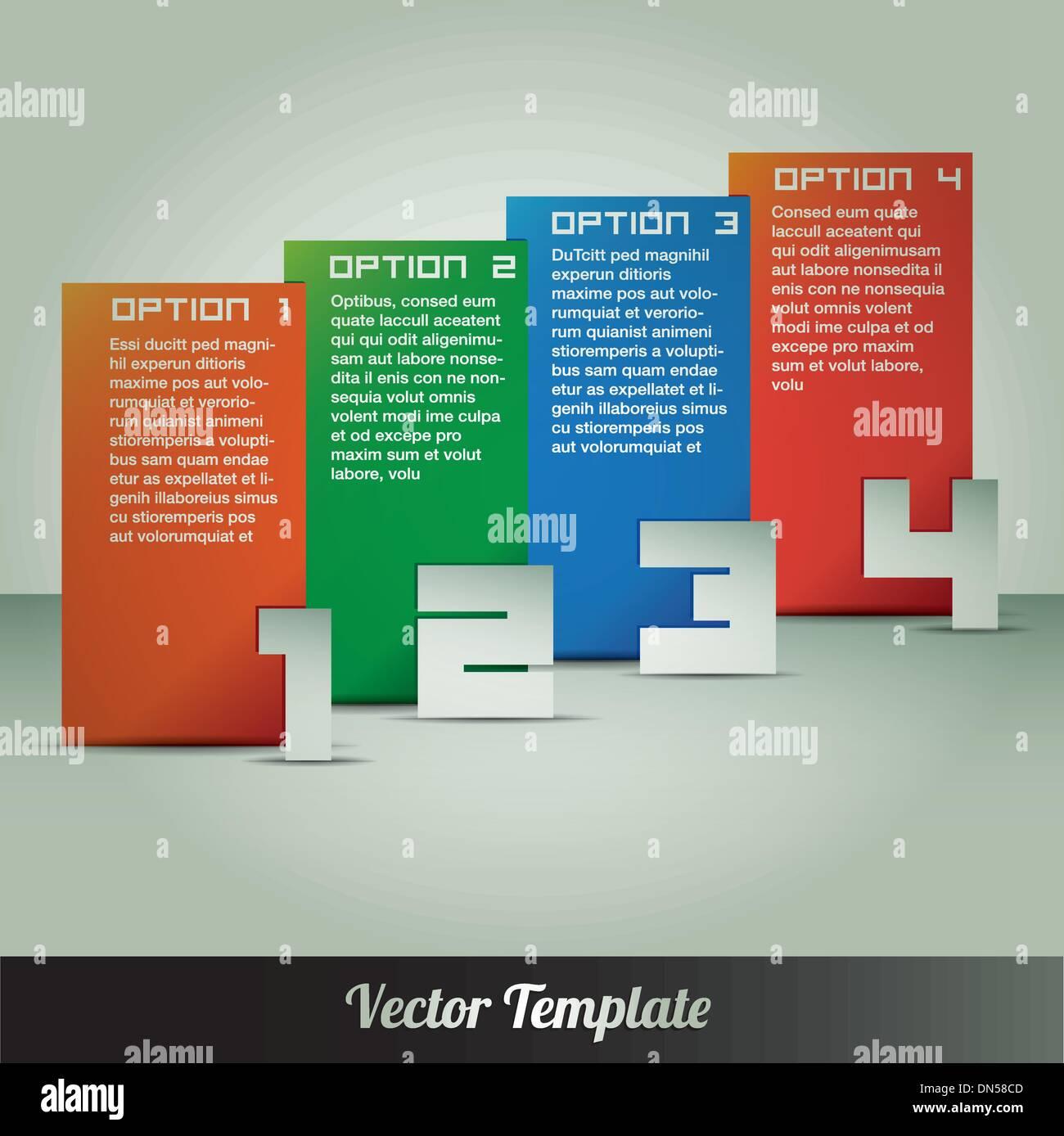 Instruction leaflet stock vector images alamy template vector eps10 illustration stock vector maxwellsz
