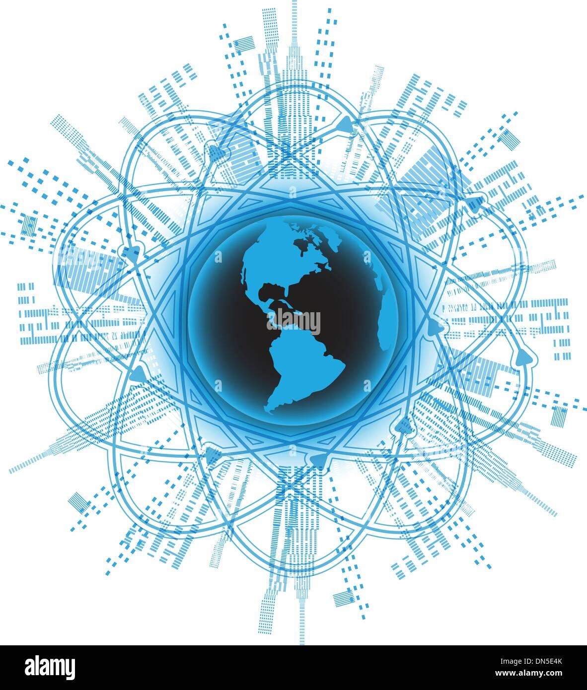 globalization - Stock Image