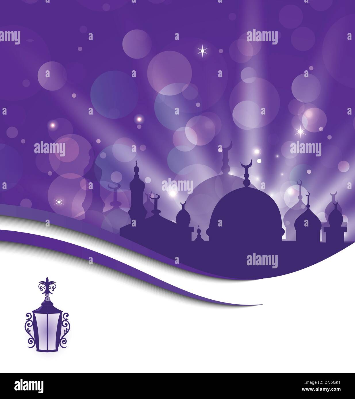 Greeting Card Template For Ramadan Kareem Stock Vector Art