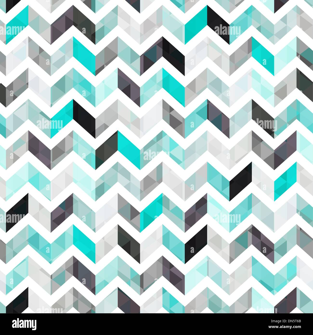 seamless geometric texture vector background - Stock Image