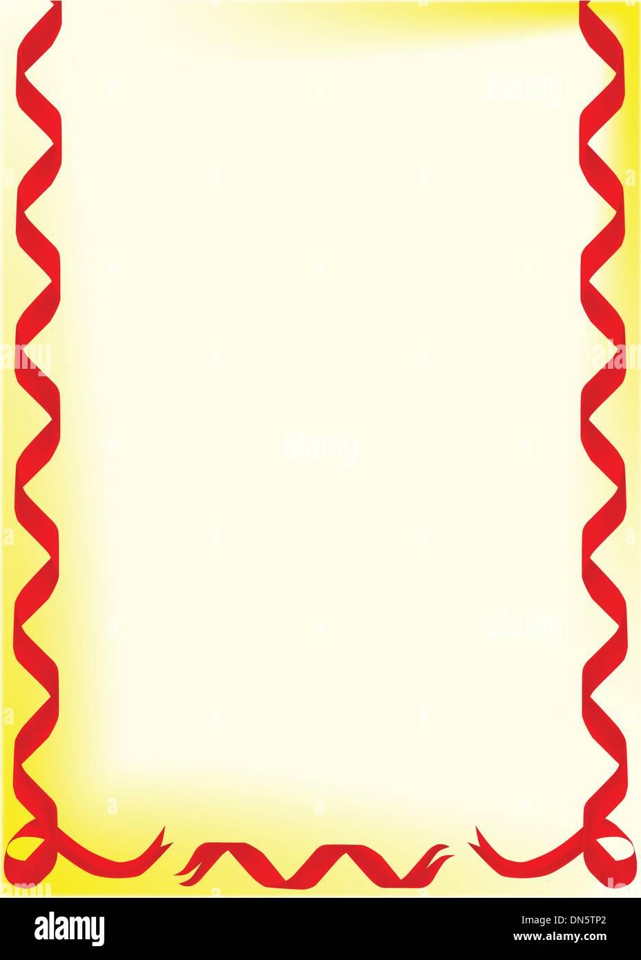 Christmas Page Border.Christmas Page Border Stock Vector Art Illustration