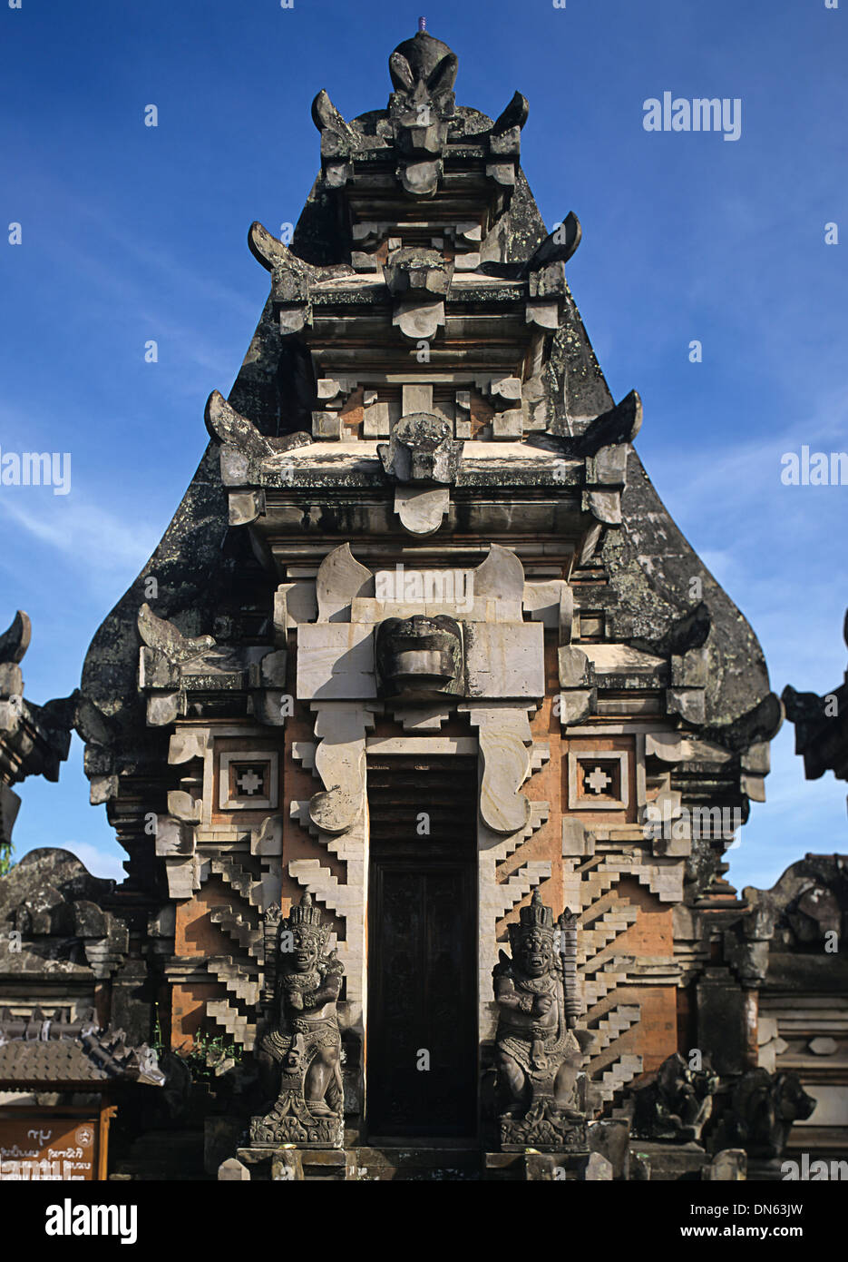 The Pura Taman Saraswati, Ubud, Bali, Indonesia - Stock Image