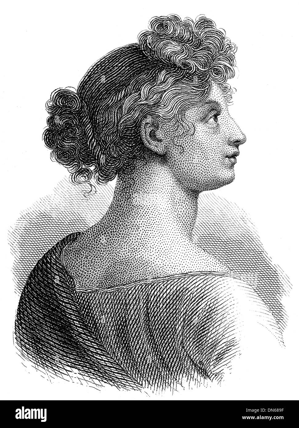 Louise of Mecklenburg-Strelitz, 1776–1810, queen consort of Prussia, - Stock Image