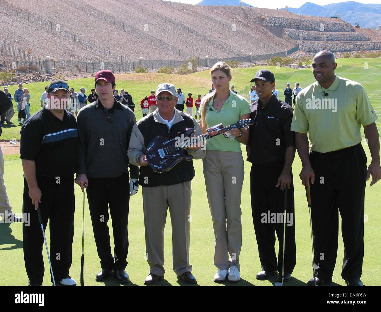 Apr. 20, 2002 - Beverly Hills, CALIFORNIA, USA - K24801MR: TIGER WOODS ''TIGER JAM V FOUNDATION''  CELEBRITY GOLF Stock Photo