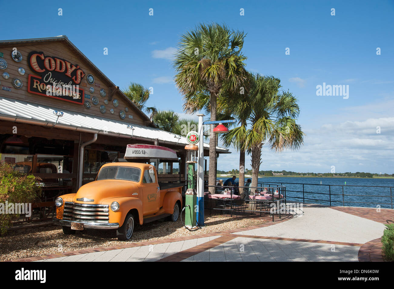 Sumter Landing In The Villages Florida Usa Codys Roadhouse A Stock