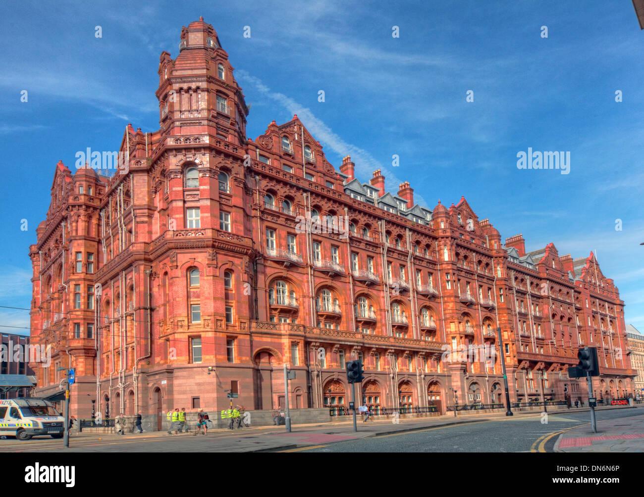 Midland Hotel Manchester, Summer, England, UK - Stock Image