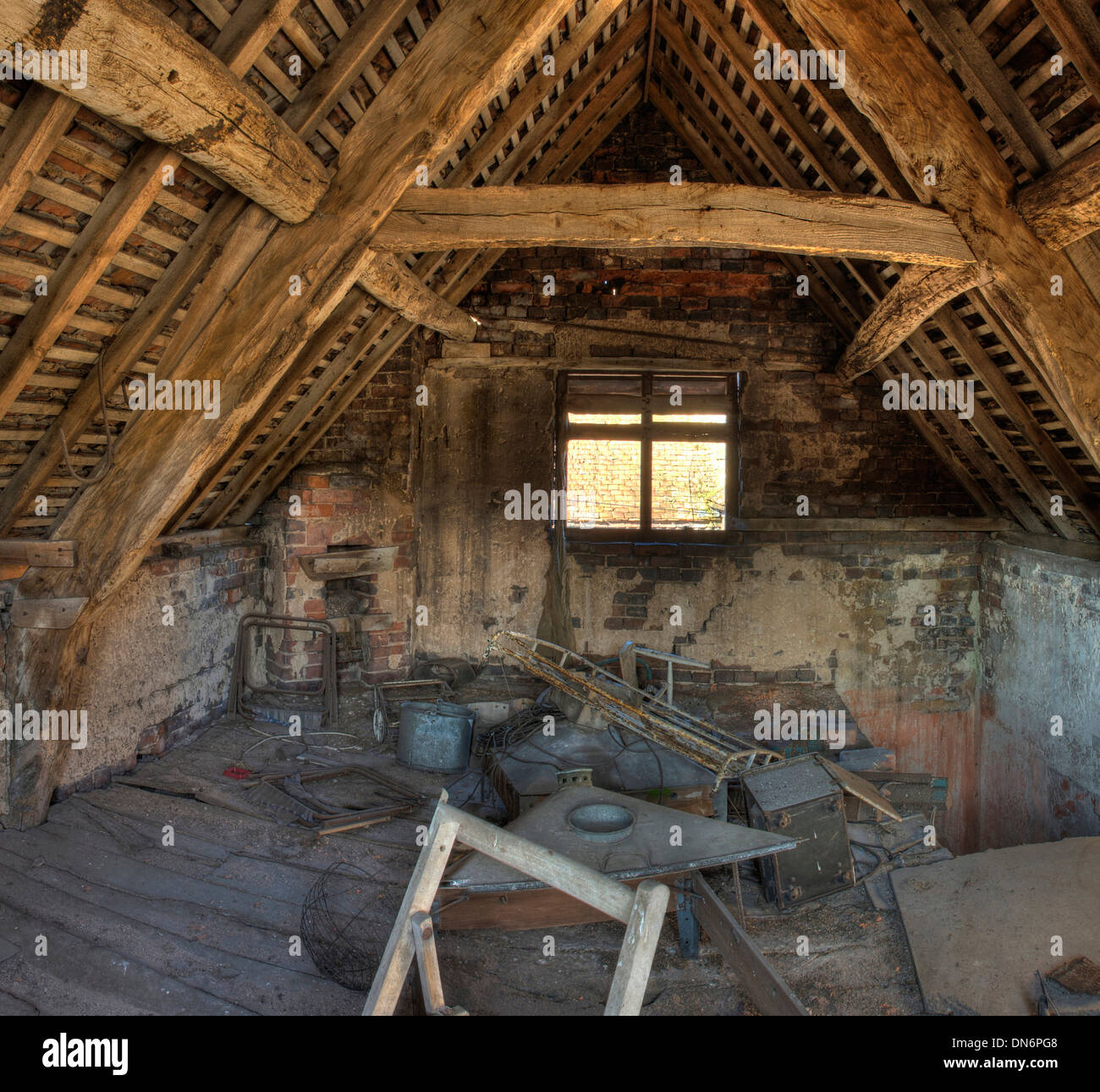 Abandoned Barn Interior Roof Stock Photos And Images