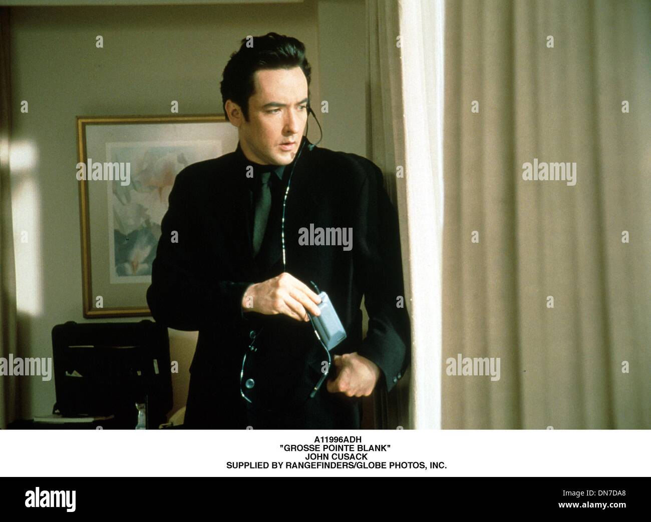 June 12, 2001 - A11996ADH.''GROSSE POINTE BLANK''  .JOHN CUSACK .SUPPLIED BY (Credit Image: © Globe Photos/ZUMAPRESS.com) - Stock Image