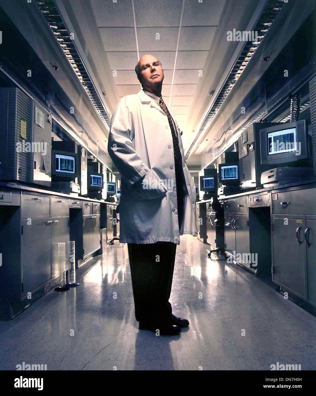 Dec. 8, 1998 - Frankfurt-Archiv, Deutschland - The archive picture of the 08.12.1998 shows Craig Venter, gene researcher Stock Photo
