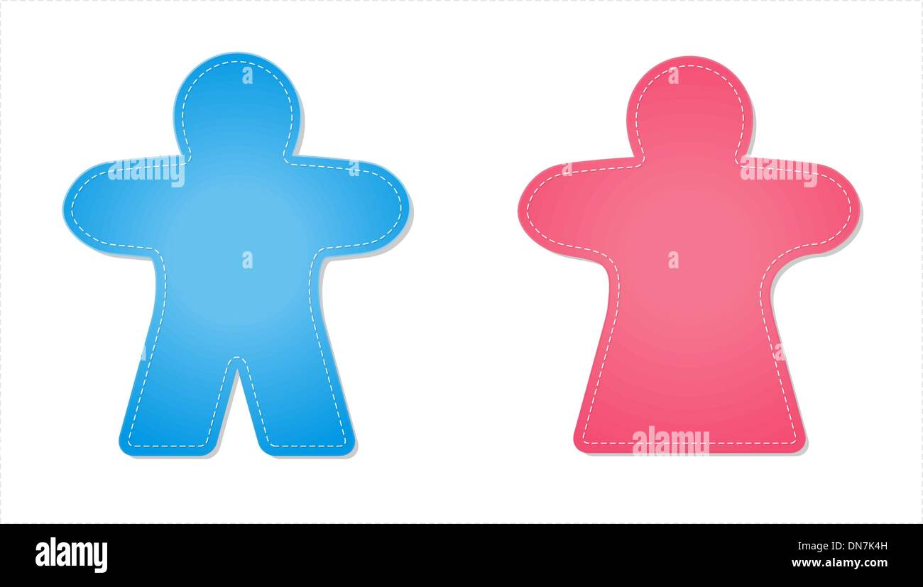 Male And Female Icon Vector Vectors Stock Photos Male And Female