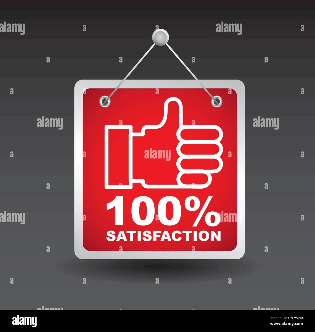 satisfaction - Stock Image
