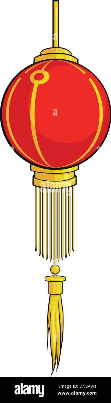 Chinese Lantern - Stock Vector