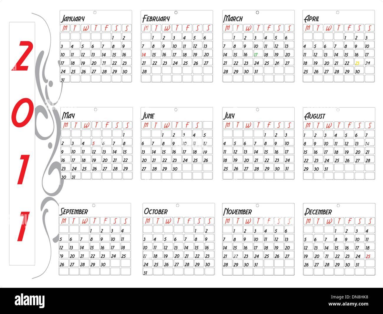 12 month calendar stock photos 12 month calendar stock images alamy