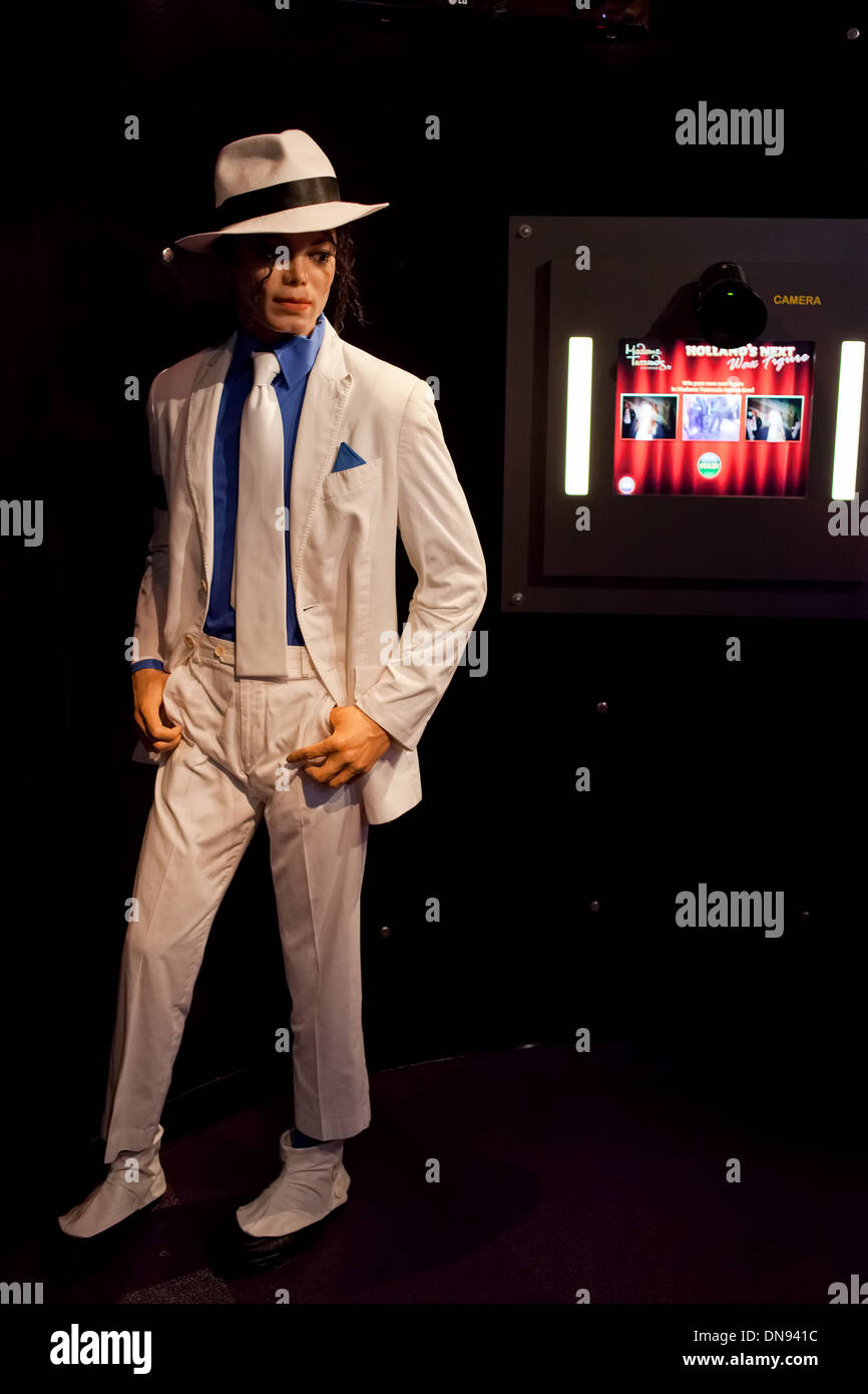 bdfc55cddf4000 Michael Jackson wax figure in Madame Tussauds Amsterdam in Holland, the  Netherlands