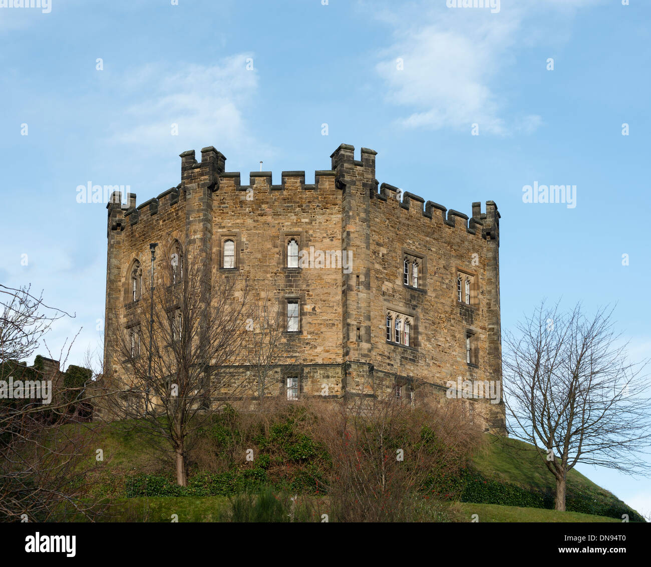 Durham Castle - Stock Image