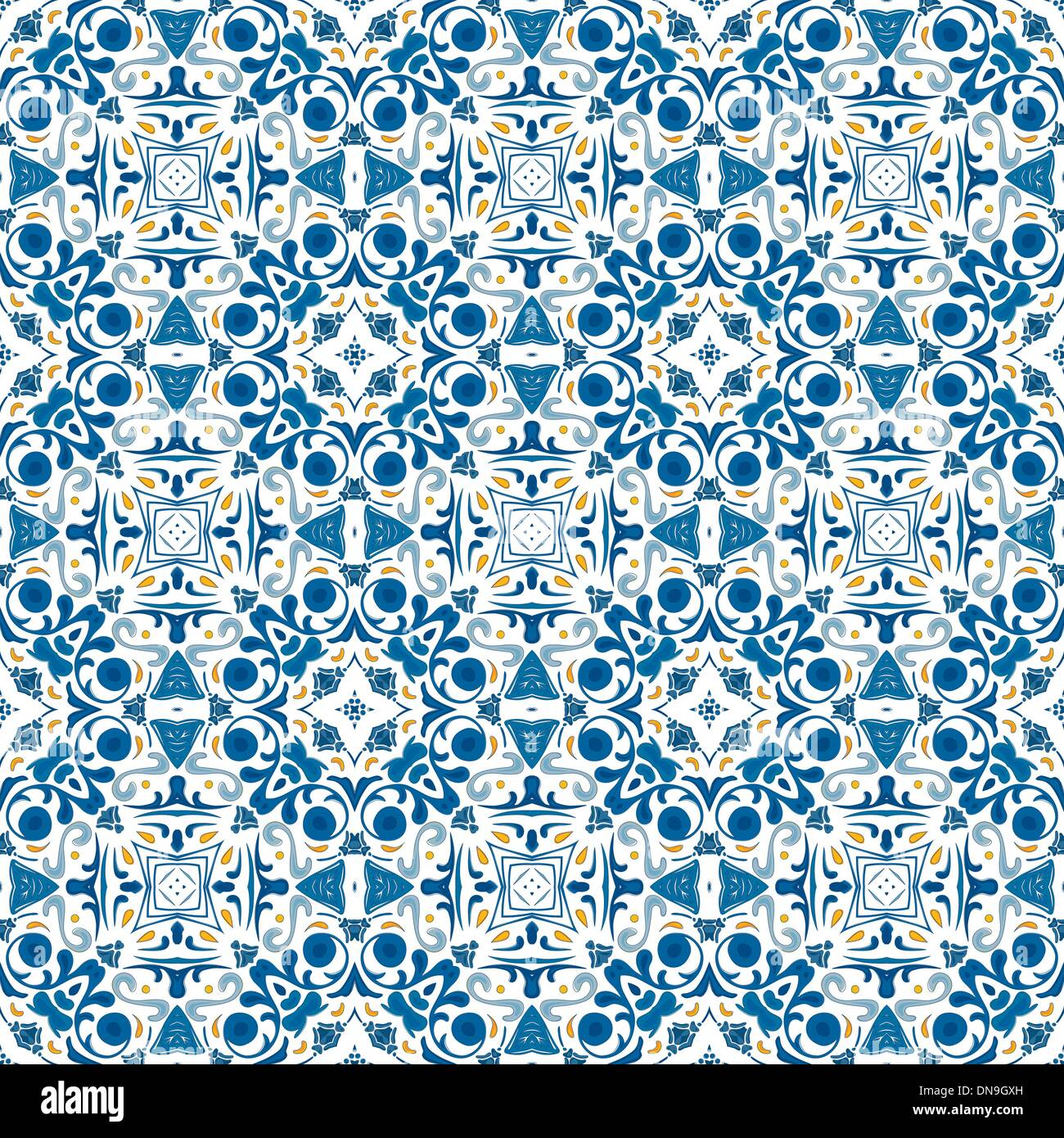 Portuguese tiles - Stock Image