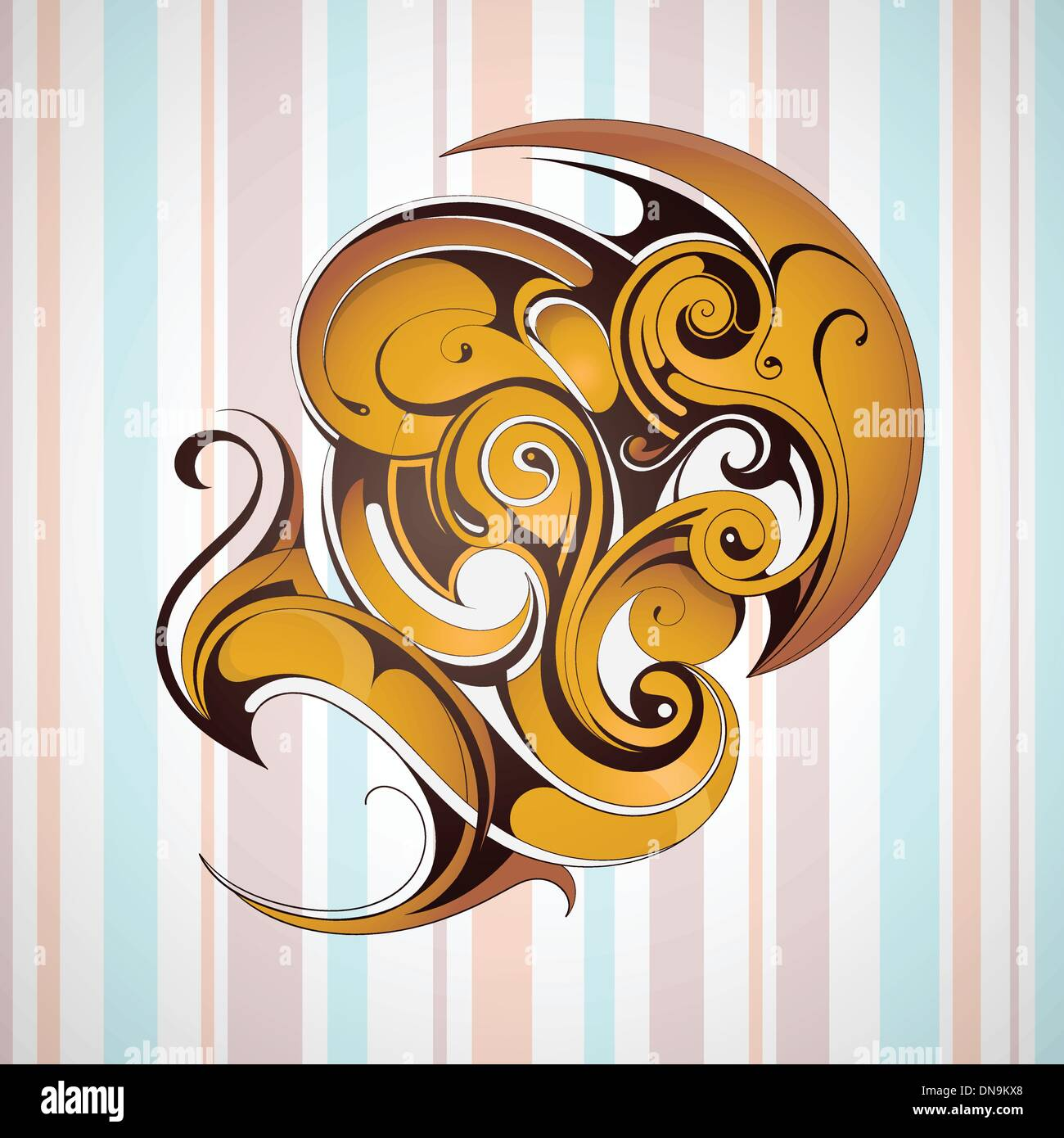 Graphic design element - Stock Image
