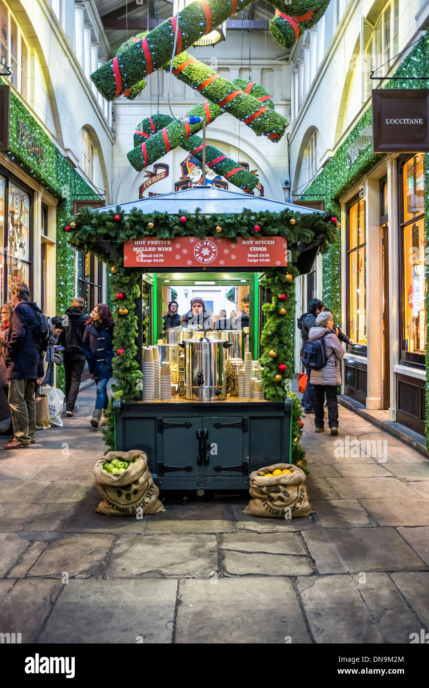 Central Avenue Shopping mall at Covent Garden with Christmas Stock