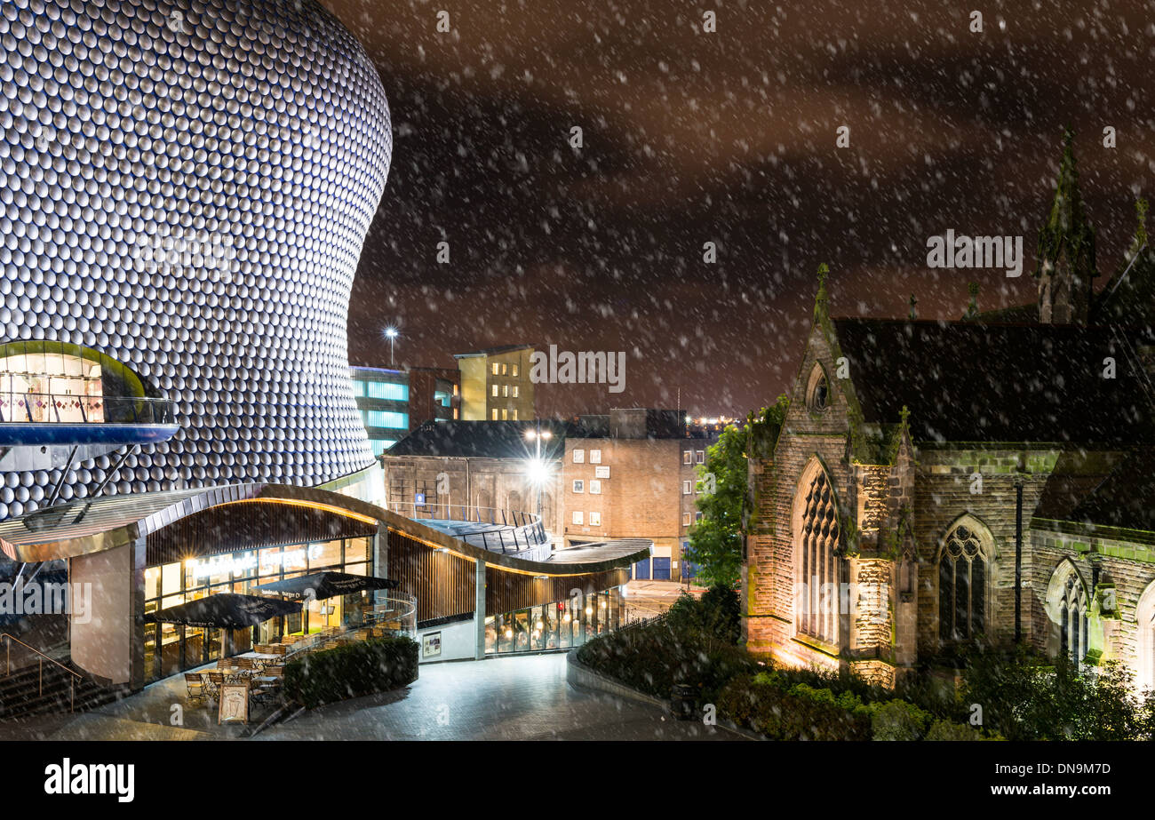 Selfridges in St. Martins Square, at The Bullring Shopping Centre, Birmingham, England, UK - Stock Image