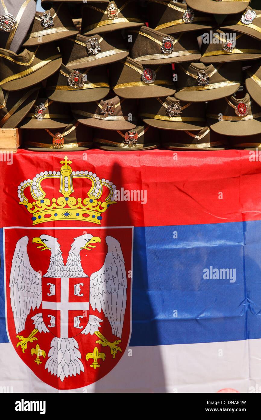 Trucker war, Belgrade, Serbia - Stock Image