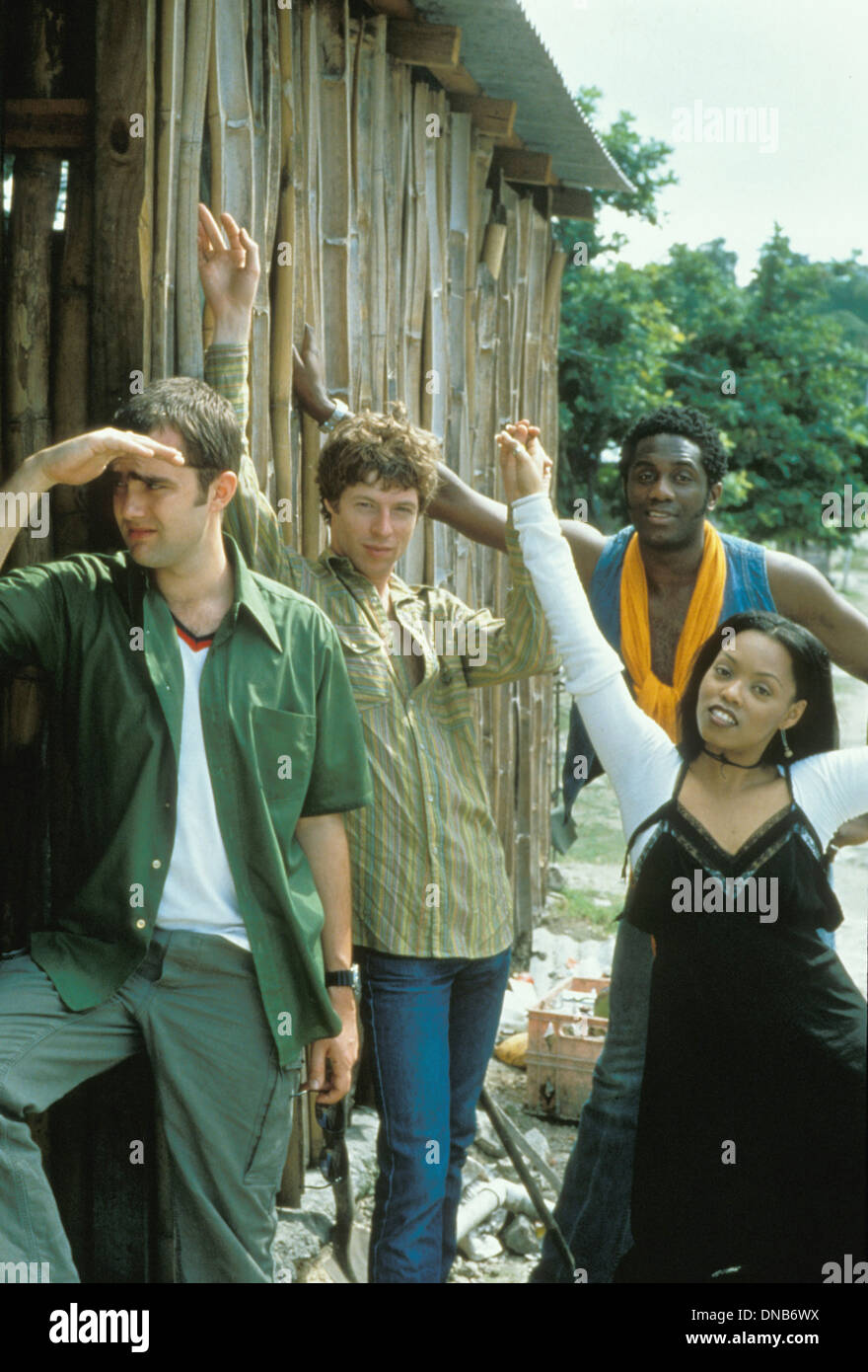 BRAND NEW HEAVIES UK rock group about 1998 with singer Siedah Garrett at right - Stock Image