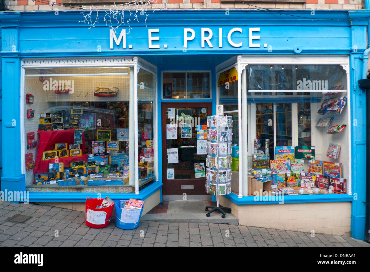 Exterior View Of Toys In M E Price Toy Shop Shopfront On High Street Stock Photo 64788473 Alamy
