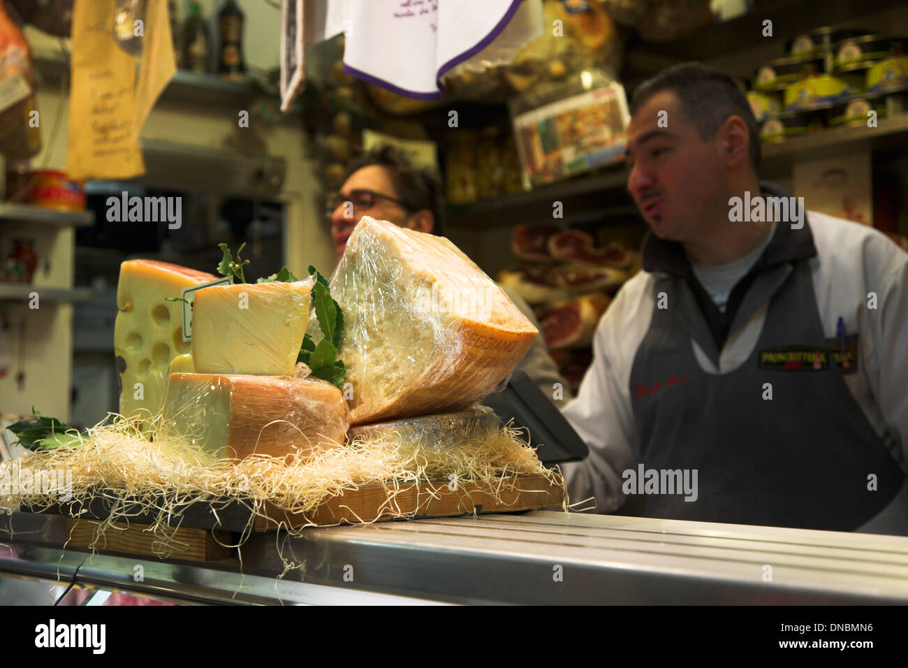 Mercato Centrale Florence - Stock Image