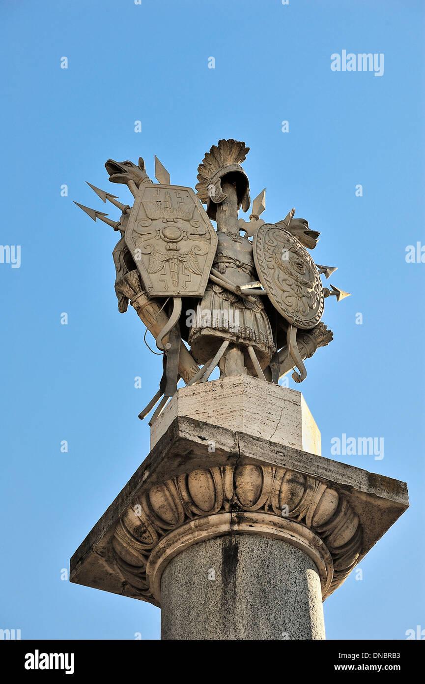 Antique statue, Rome. - Stock Image