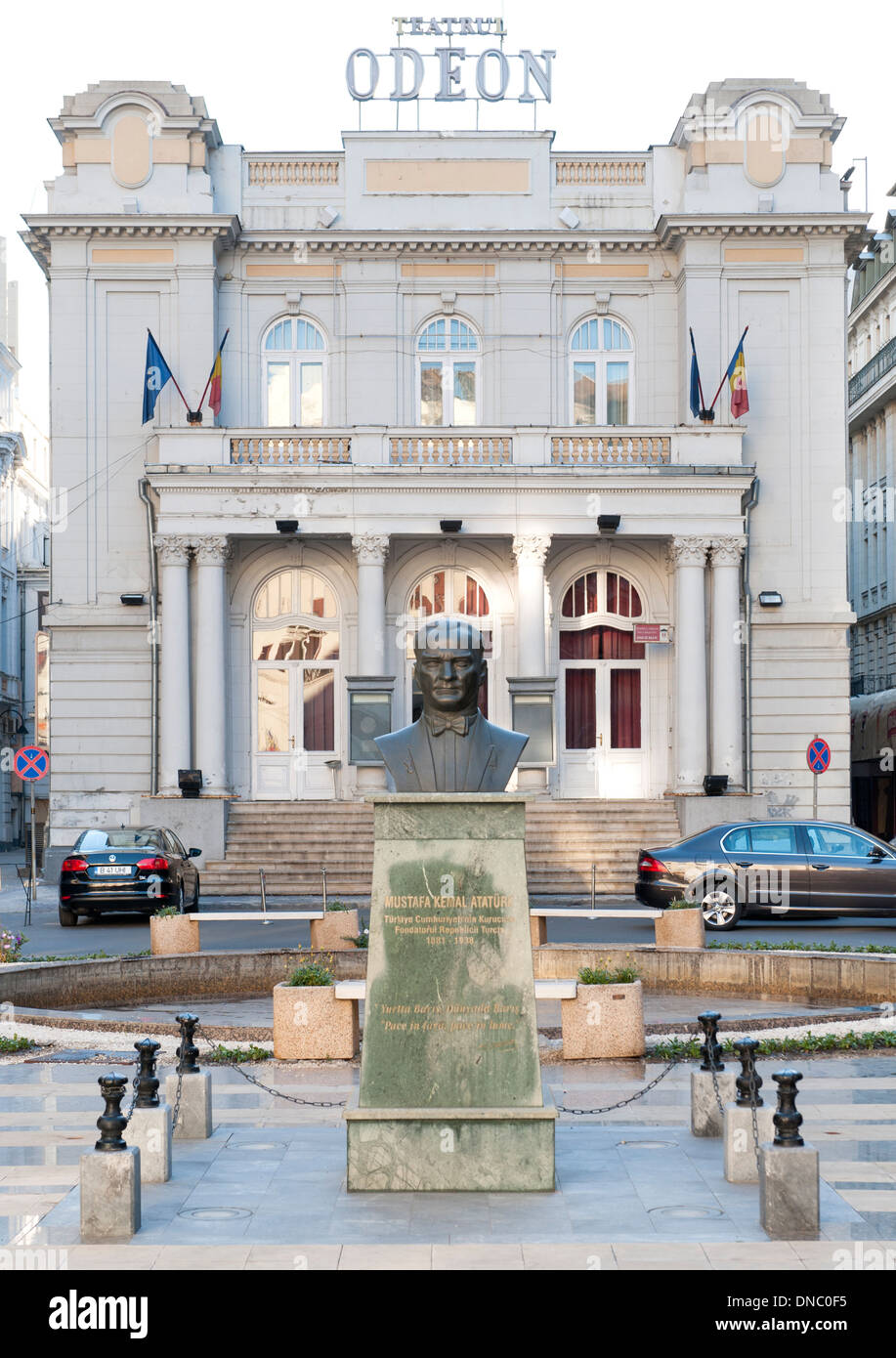 The Odeon Theatre (Teatrul Odeon) in Bucharest, the capital of Romania. Stock Photo