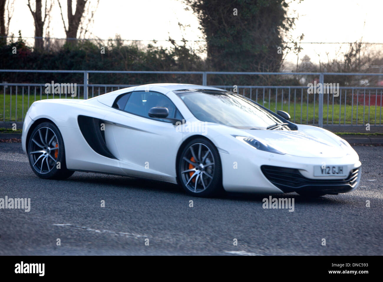 White McLaren MP4-12C Stock Photo: 64806479 - Alamy