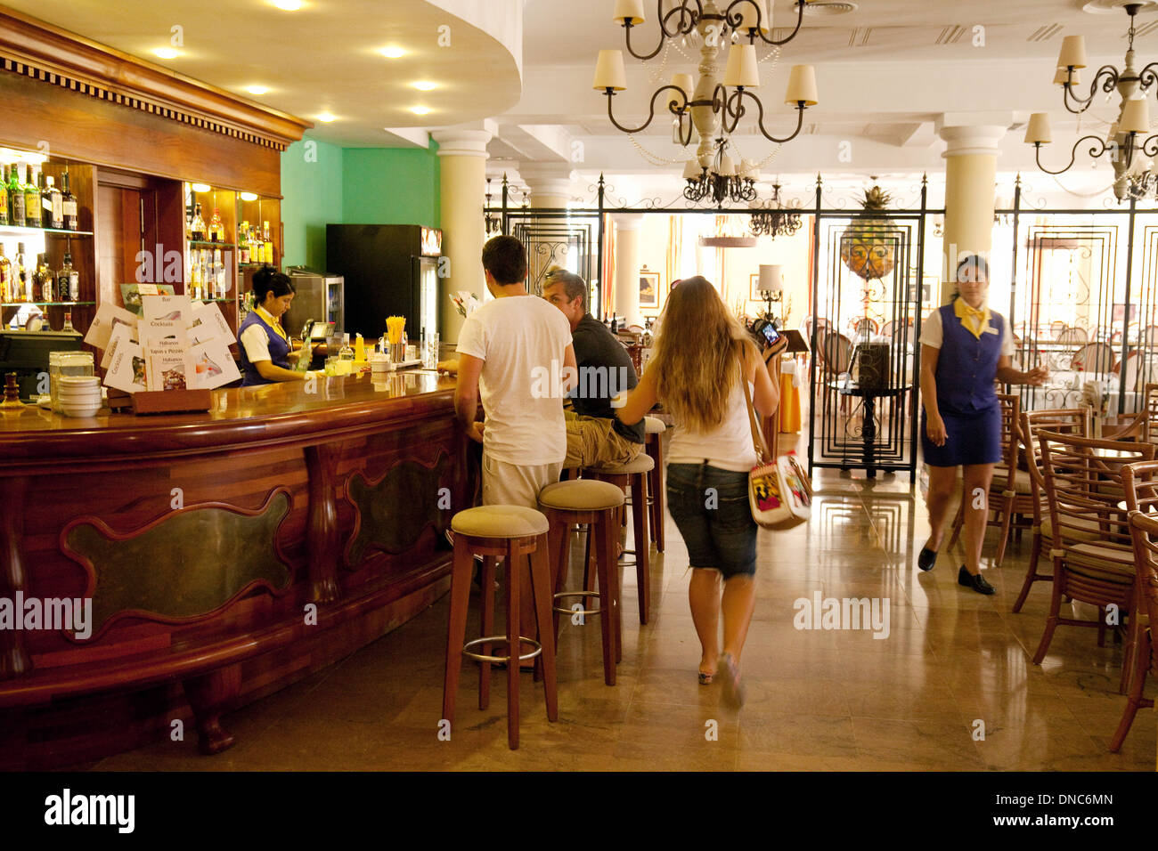 The bar in the interior of the luxury iberostar grand for Hotel luxury quan 6