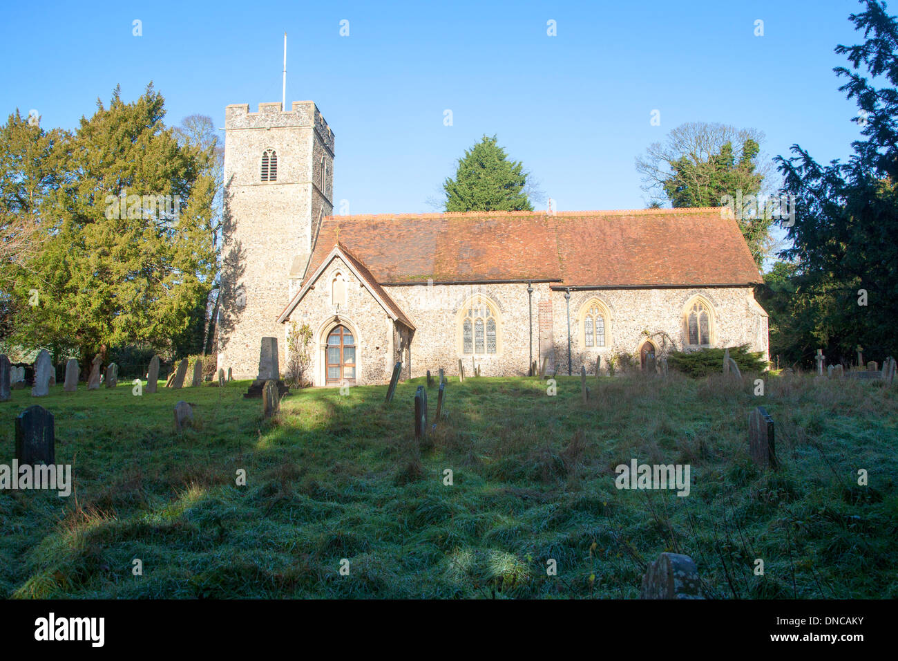 St Mary Magdalene parish church, Sternfield, Suffolk, England Stock Photo