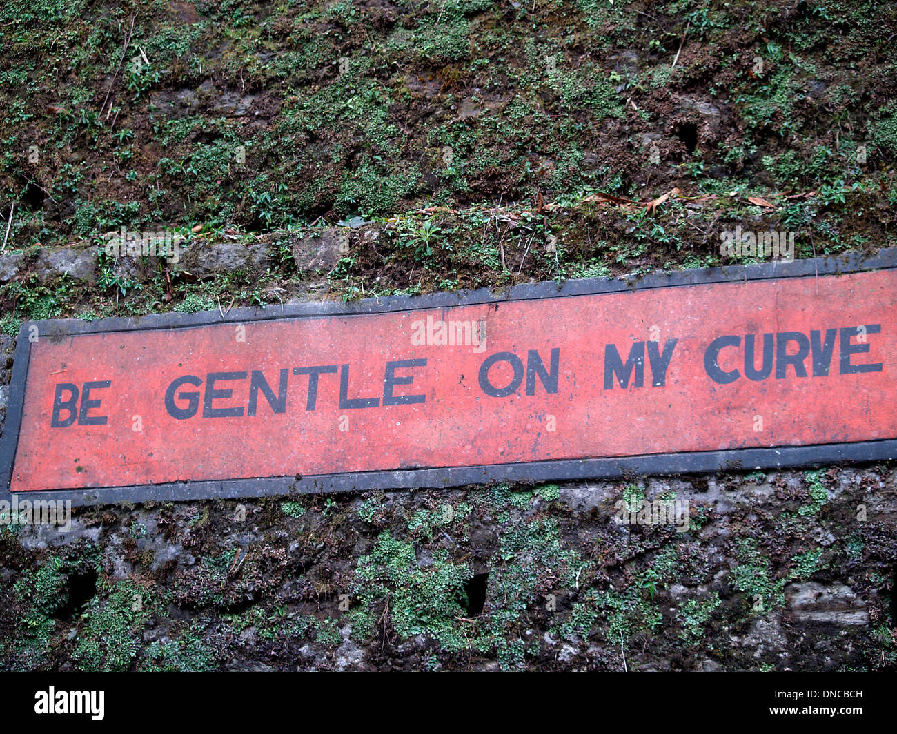 India's humorous road signs - Stock Image