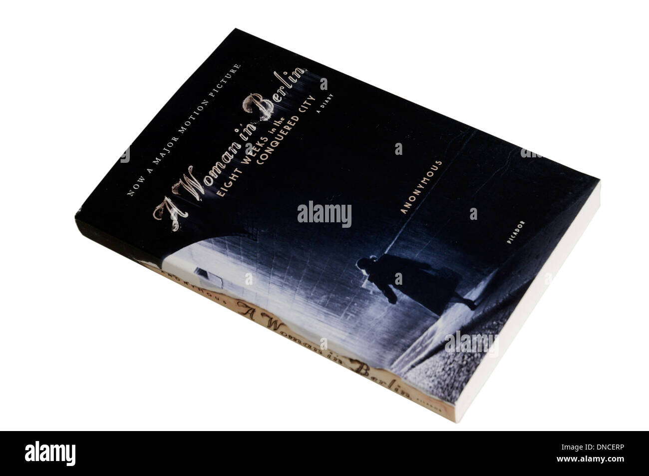 A Woman in Berlin book - Stock Image