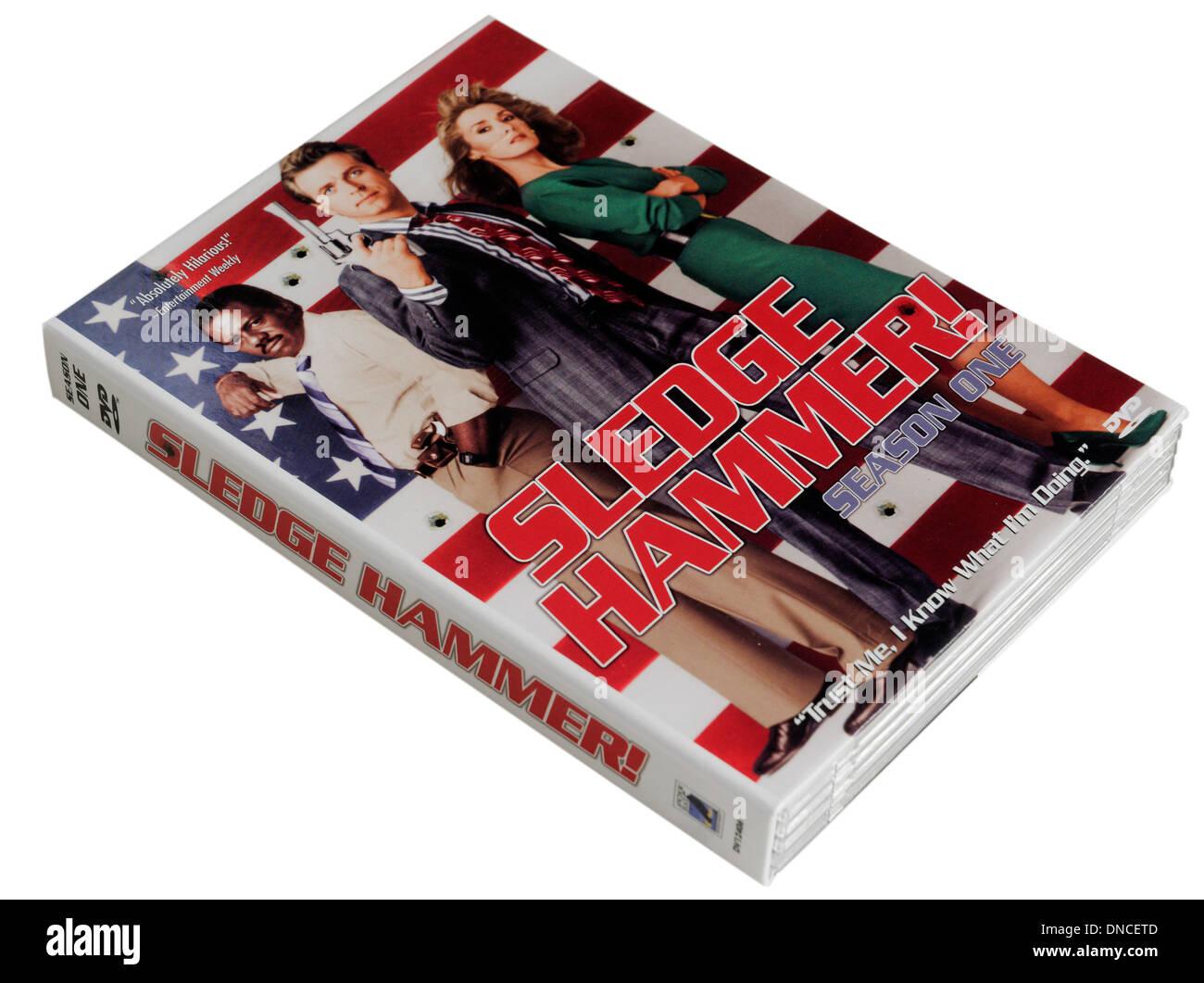 Sledge Hammer DVD - Stock Image