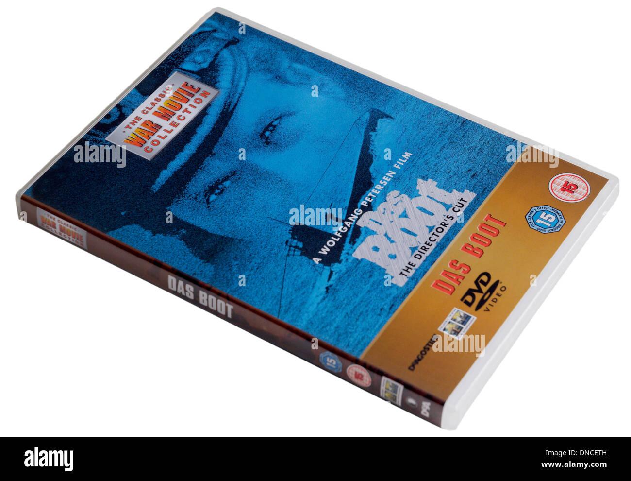 Das Boot DVD - Stock Image