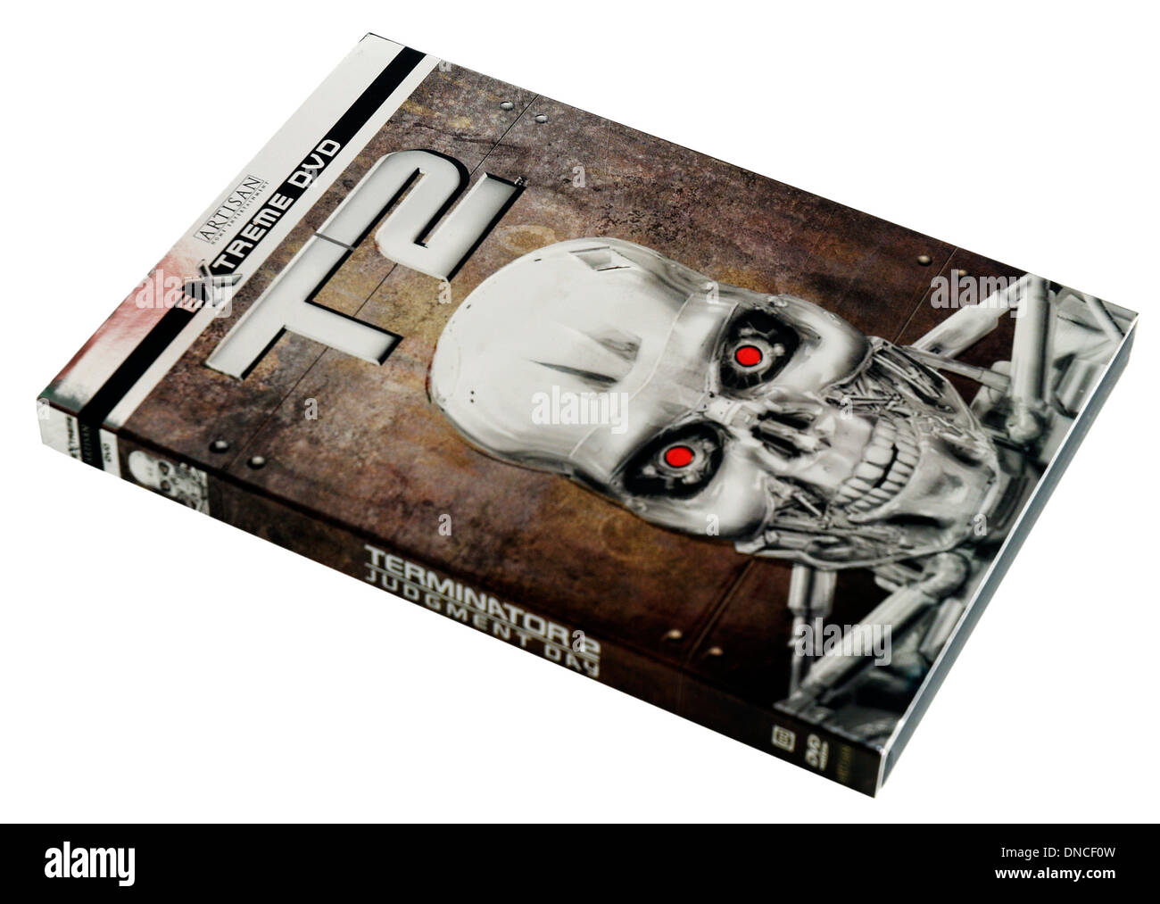 Terminator 2 DVD - Stock Image
