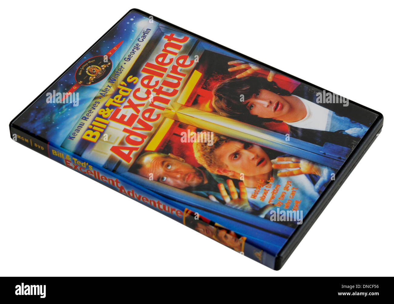 Bill and Ted's Excellent Adventure DVD - Stock Image