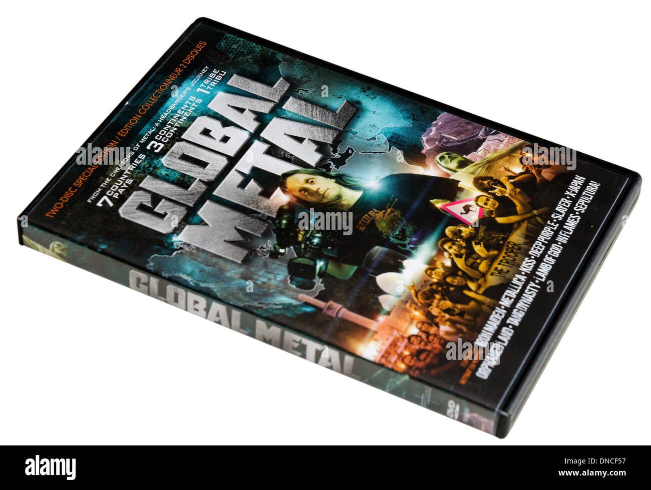Global Metal DVD - Stock Image