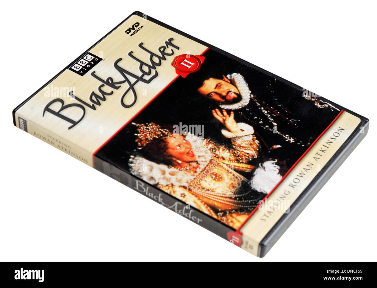 Blackadder II BBC TV Comedy classics DVD - Stock Image