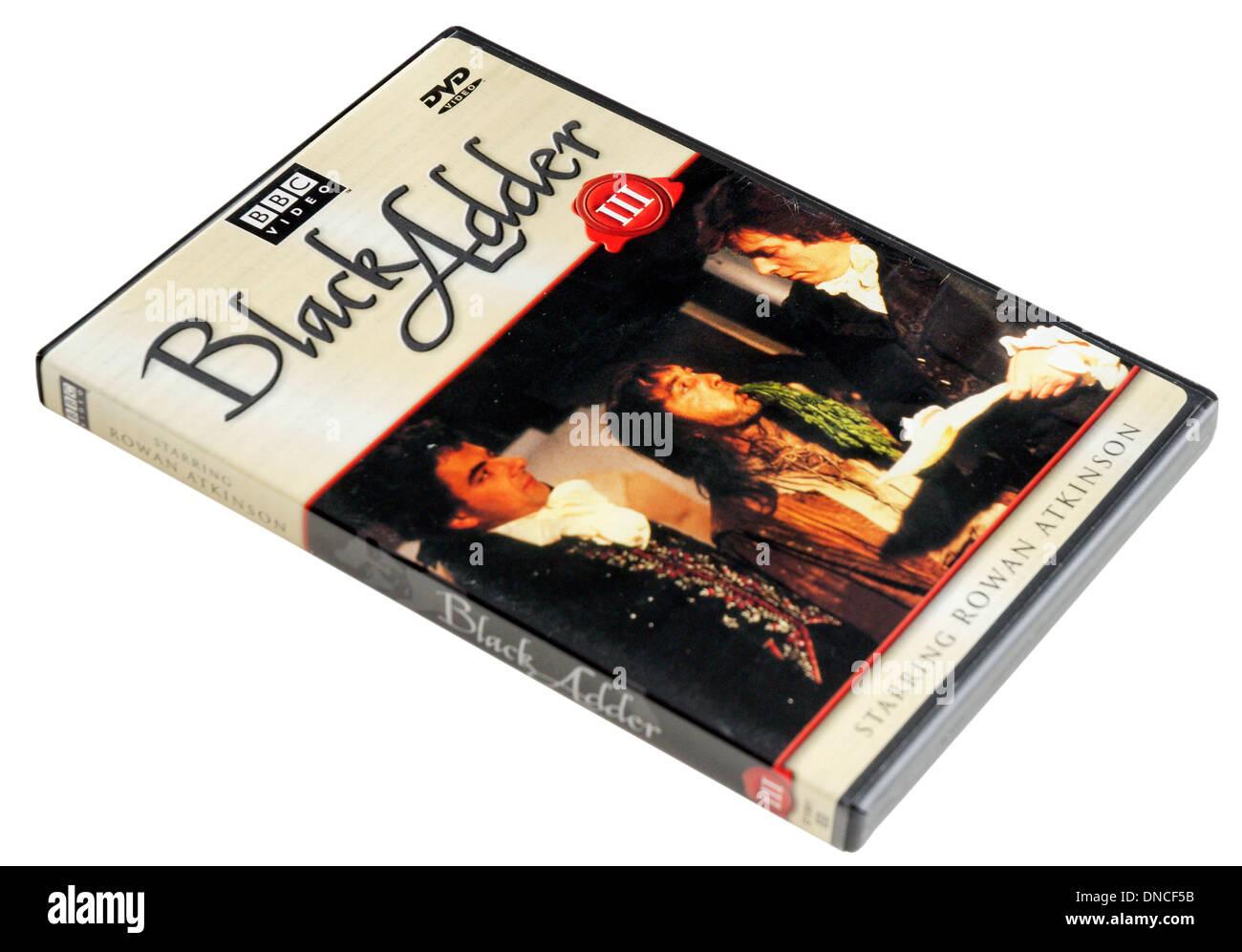 Blackadder III BBC TV Comedy classics DVD - Stock Image