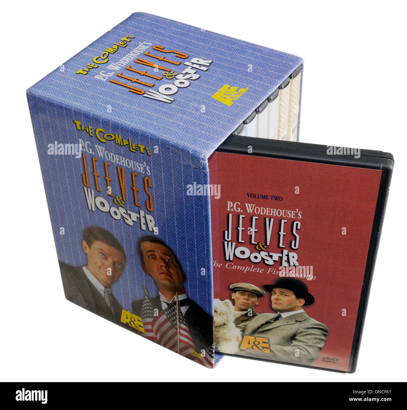 Jeeves and Wooster DVD set - Stock Image