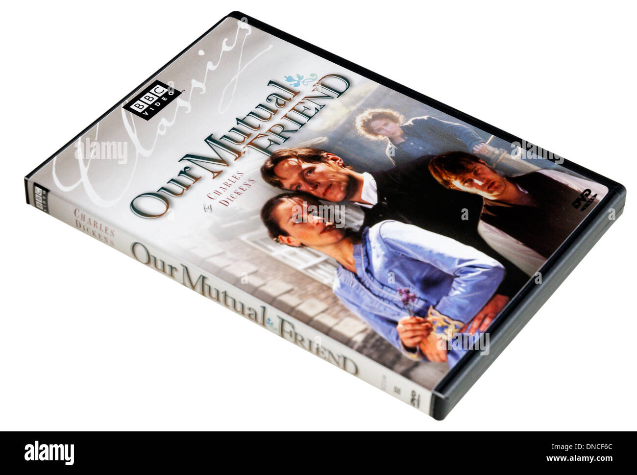 BBC Charles Dickens DVD of our Mutual Friend - Stock Image