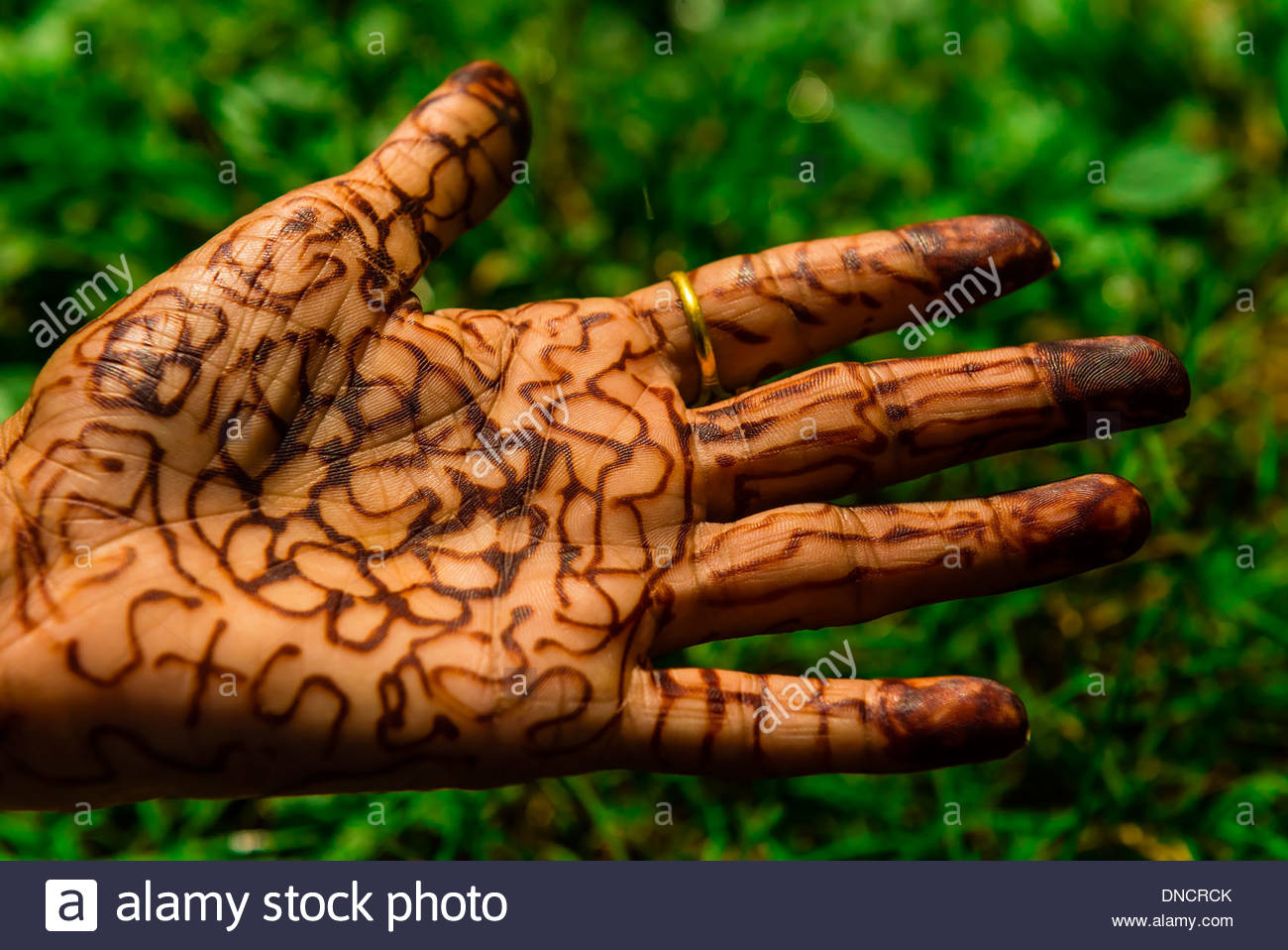 Group Mehndi Hands : Hand mehndi stock photos & images alamy