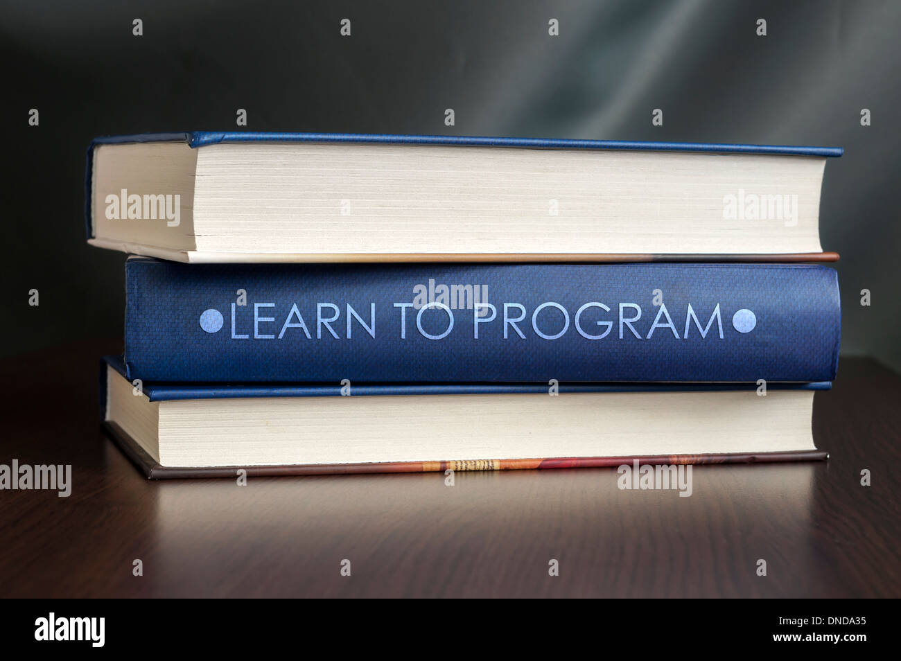 Software Engineering Programming Books Stock Photos