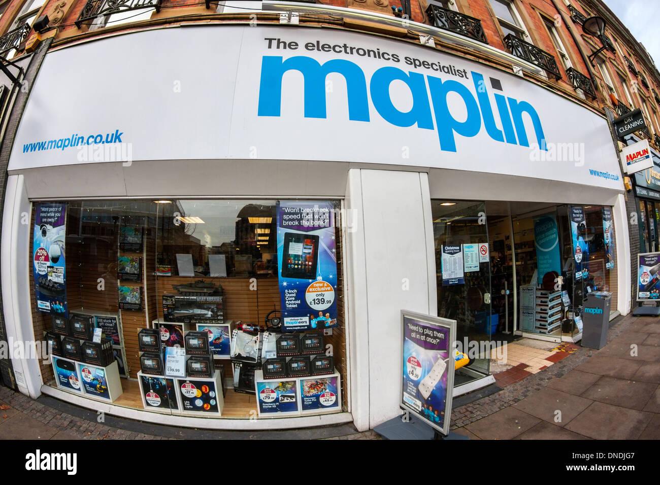 Maplin Store - Stock Image